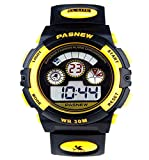 Waterproof Boys/Girls/Childrens Digital Sports Watches for Kids age 5-12 Years Old Gift