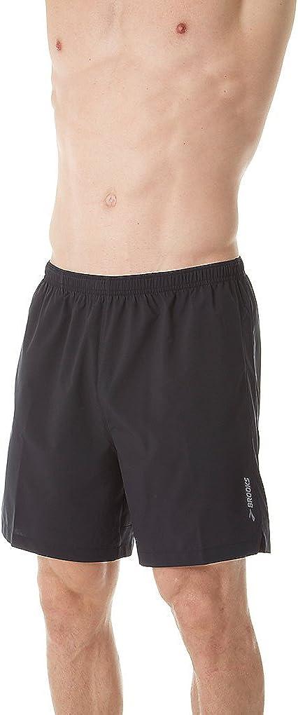 "Brooks Go-to 7"" Shorts Black XL 7"