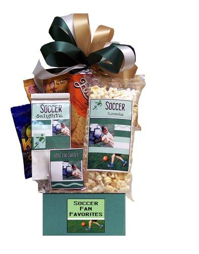 Super Soccer Fan Sports Gift Basket
