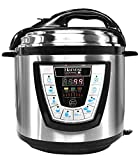 Harvest Cookware Pressure PRO Automatic 1 Touch Pressure Cooker 6-Quart, Black
