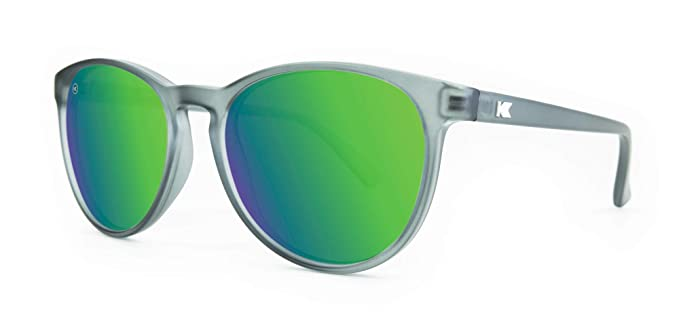 Knockaround Mai Tais no polarizado gafas de sol (Frosted Grey/Green Moonshine)