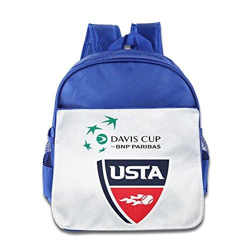 Davis Cup 2015 Usa Tennis Logo Girls Stylish Backpack School Bag