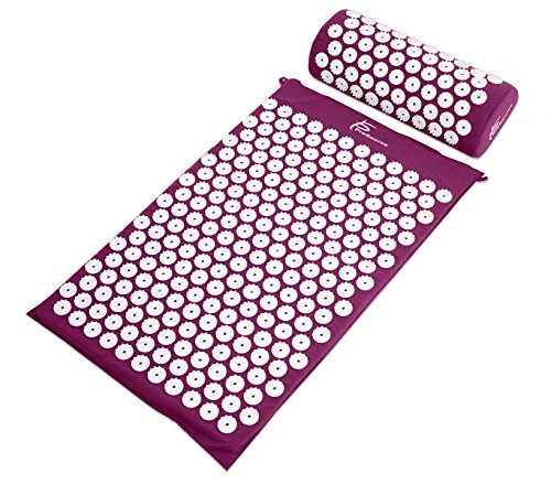 ProSource-Acupressure-Mat-and-Pillow-Set-for-BackNeck-Pain-Relief-and-Muscle-Relaxation