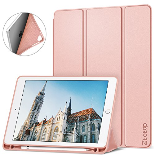 Ztotop Newest iPad 9.7 Inch 2018/2017 Case with Pencil Holde