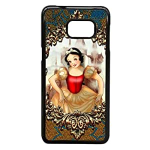 Disneys Snow White and the 7 Dwarfs Funda Samsung Galaxy Note 5 Edge Funda Caja del teléfono celular Negro W3Y5VK