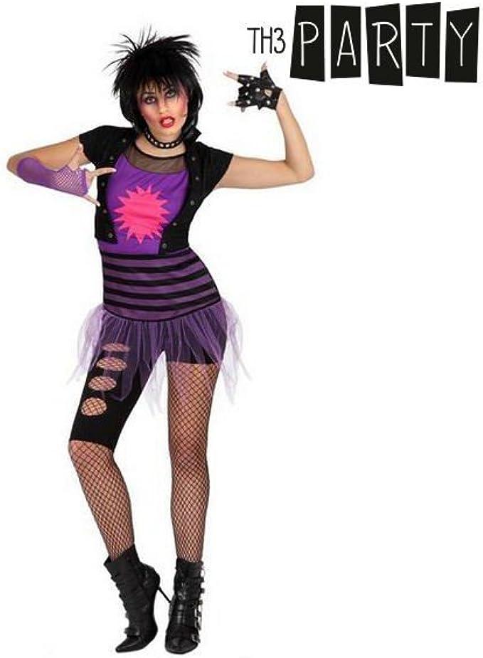 Disfraz para Adultos Th3 Party Rockera: Amazon.es: Ropa y ...