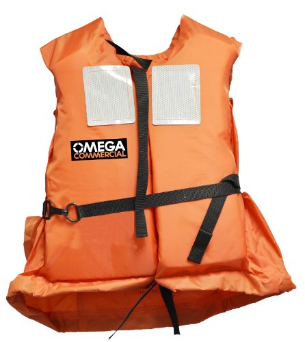 Universal Polyester Life Jacket Vest(Orange) - 2