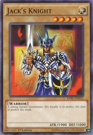 Yu-Gi-Oh! - Jack's Knight (DPBC-EN012) - Duelist Group 16: Battle City - 1st Edition - Common
