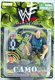 WWF - Stone Cold Steve Austin - Camo Carnage - With Accessories - Jakks
