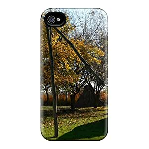 Scratch Resistant Hard Cell-phone Cases For Apple Iphone 4/4s With Unique Design Beautiful Opusztaszer Osz Nagykep Series AshleySimms