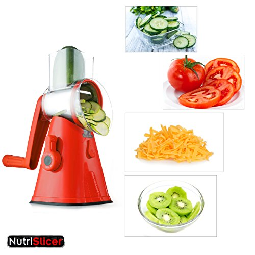 Food Processor As Seen On Tv ~ Nutrislicer in spinning rotating mandoline and