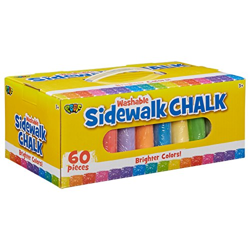 - POOF 60pc. Sidewalk Chalk