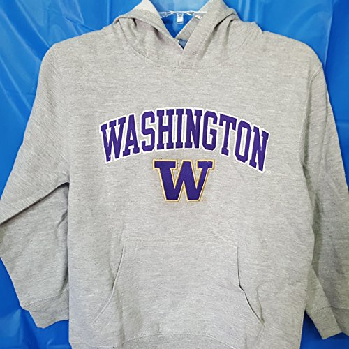 New! With Out Tags Washington Huskies Embroidered Hoodie Boys XS (4-5) ()