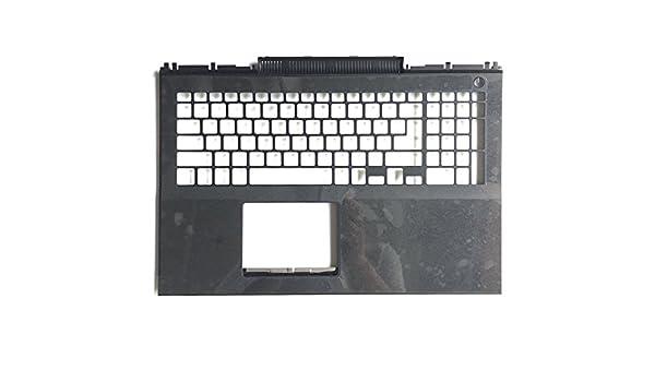 Laptop Palmrest for DELL Inspiron 15 7000 7566 7567 P65F 0MDC8K MDC8K US English White Backlit Keyboard Upper case