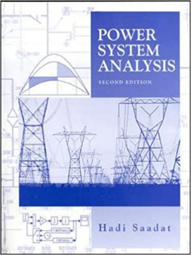 Power Systems Analysis Saadat Hadi 9780071239554 Amazon Com Books
