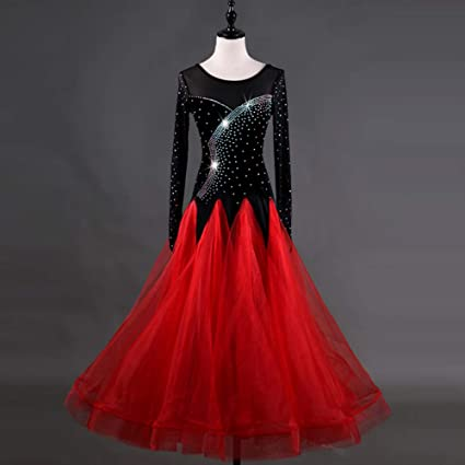 df4001255 FengJingYuan-YIFU Modern Waltz Tango Performance Costume Smooth National  Standard Ballroom Dance Dress Competition Dancing