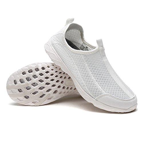 TRAUM-PAAR-Frauen athletischer Beleg auf Wasser-Schuhen Weiß