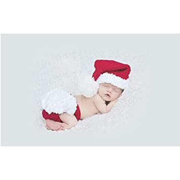 8e7dc66ba8f38 FENICAL Bébé Costume Tenues Photographie Props De Noël Tricot Crochet  Vêtements Photo Prop Tenues pour Garçons