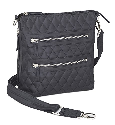 Concealed Carry Gun Purse - Concealment Quilted Crossbody Sac by Gun Tote'n Mamas - Concealment Crossbody