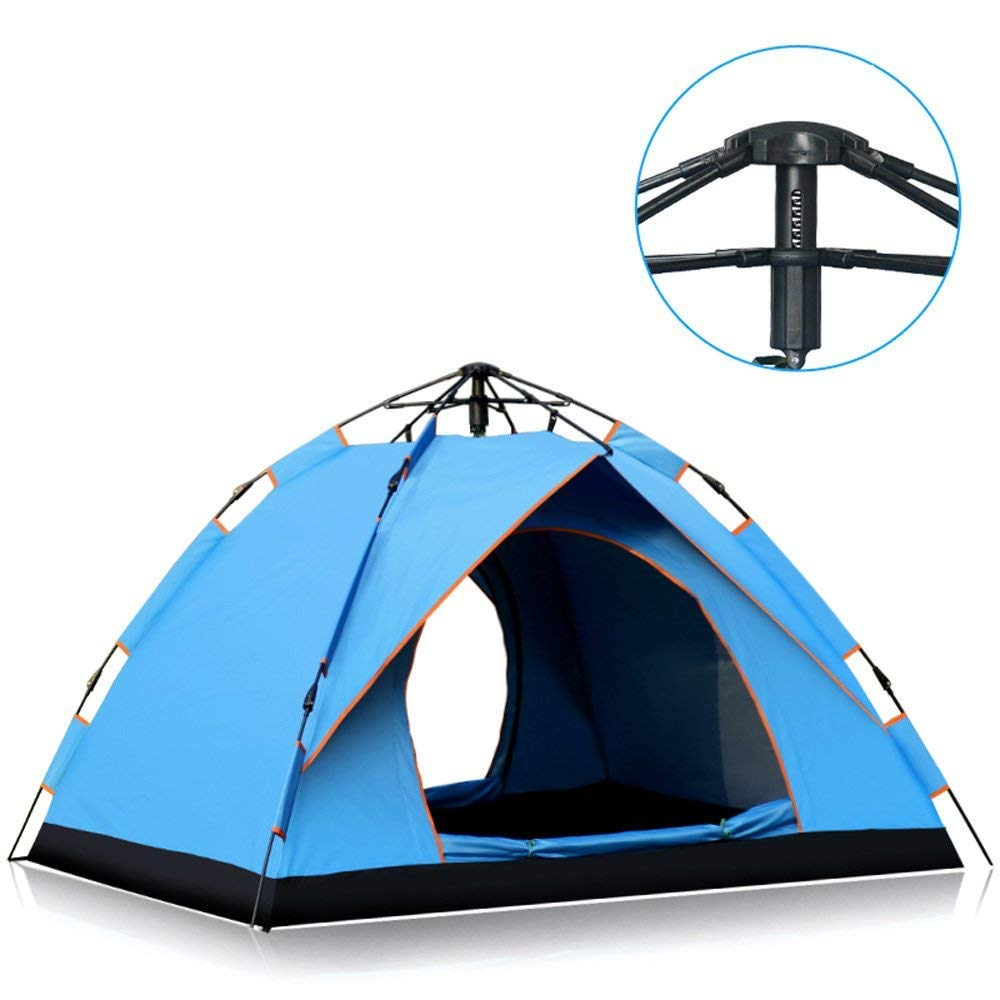 Zelte im Freien (2-3 Personen Automatic Rainproof Wild Camping Home Größe: (Länge  Breite  Höhe cm): 210X155X130cm