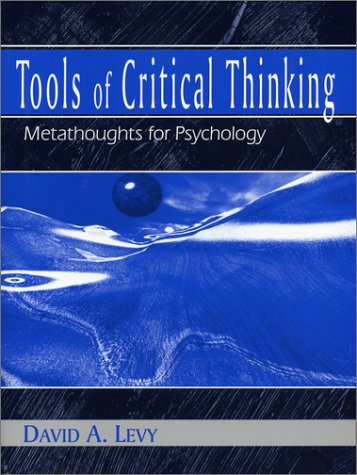Tools of Critical Thinking: Metathoughts for Psychology