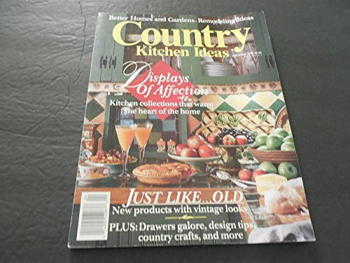 Better Homes Gardens Country Kitchen Ideas Fall/ Winter 1990