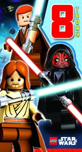 Price comparison product image Lego Star Wars Age 8 Greeting Card