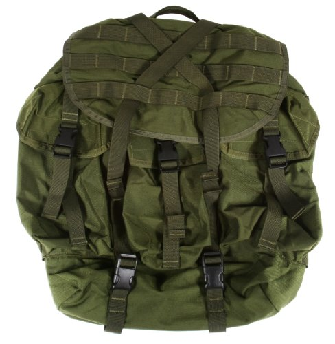 SpecOps SO100200202 Recon Ruck Ultra Backpack, Olive (Olive Drab Alice Pack)