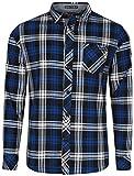 Tokyo Laundry Carlsson True Blue Check Shirt L