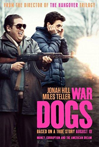 WAR DOGS Original Movie Poster 27x40 - Dbl-Sided - Jonah Hill - Miles Teller - Ana de Armas - Barry - Livingston Stores