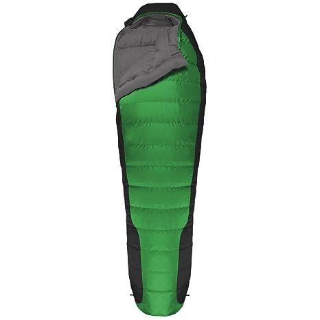 SALEWA Schlafsack Phalcon -1 SB - Saco de dormir momia para acampada, color verde