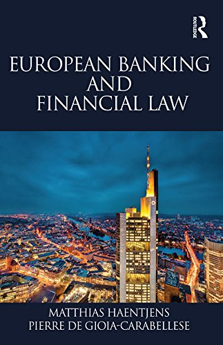 European Banking And Financial Law  English Edition