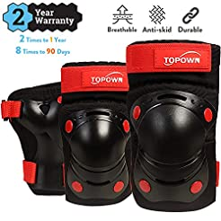 TOPOWN Protective Gear for Kids Protecti...