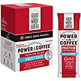 Collagen Protein Coffee Mix-in (12g) Grass-Fed Pure Protein - Keto & Paleo Friendly - NO Dairy, Whey, or Soy - Naturally Sweetened- Sugar-Free - 14 Pack