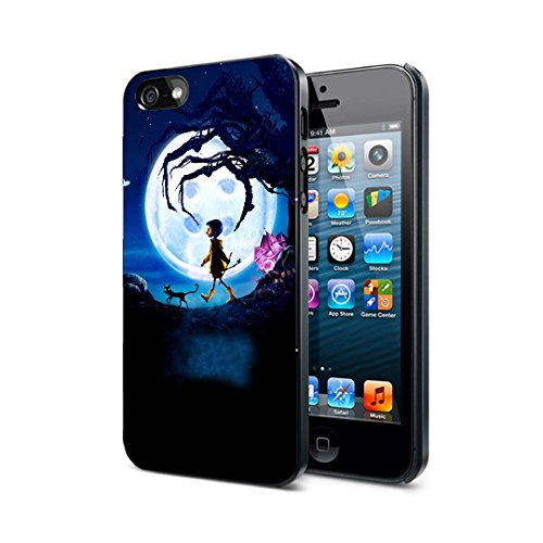 e88a7c9a4375 Coraline Plastic Case For iPhone 5 5S SE