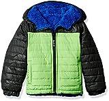 London Fog Big Boy's Green Midweight Jacket L217dr61 Outerwear, green, 14/16