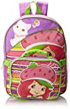 Fast Forward Little Girls  Strawberry Shortcake Backpack with Lunch Box