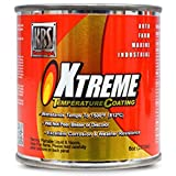 KBS Coatings 65206 Rocket Red Xtreme Temperature Coating - 8 fl. oz.