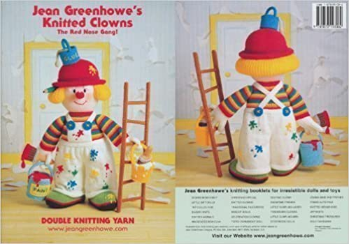 Jean Greenhowes Knitted Clowns the Red Nose Gang!