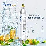FOMAGAS 60L Co2 Carbonator, 425 Gram Carbon Dioxide Cartridge Compatible with Sodastream Appliances, 14.5oz, Set of 1