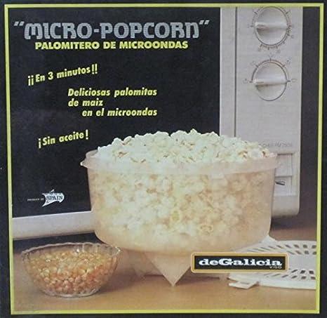 Compra PALOMITERO DE MICROONDAS PLASTICO DE GALICIA en Amazon.es