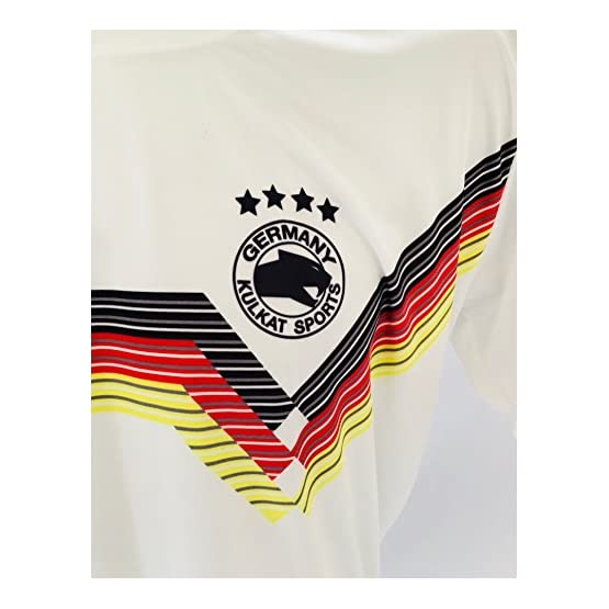 Kulkat Sports Sale. WM Maillot de l'Allemagne Germany Taille Top Qualité de Fun Maillot en Jersey (XL)