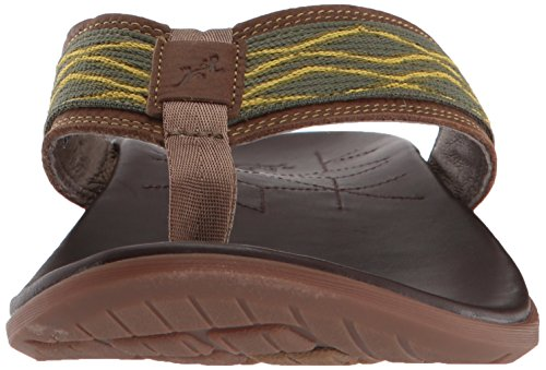 Chaco Mens Marshall Flip-flop Tracer Moss