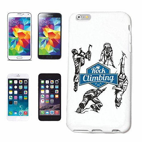 "cas de téléphone iPhone 6S ""ESCALADE RANDONNEE ESCALADE LIFESTYLE FASHION STREETWEAR HIPHOP SALSA LEGENDARY"" Hard Case Cover Téléphone Covers Smart Cover pour Apple iPhone en blanc"