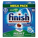 Reckitt Benckiser Powerball Dishwasher Tabs, Fresh Scent, 90/Box (4 Boxes/Carton) - BMC- FSH89729CT