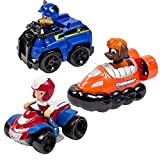 Toys : Paw Patrol Nickelodeon, Rescue Racers 3pk Vehicle Set Chase, Zuma, Ryder