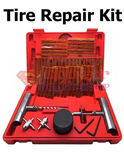 57 Piece Tire Repair Kit Tire Repair Kit - Utv Tire Plug Kit
