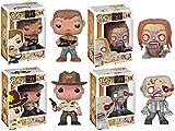 """Pop TV Walking Dead 5"""" Vinyl Figure Set Of 4"""