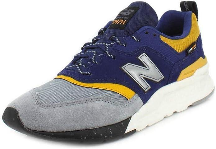 New Balance 997H V1 Sneakers Herren Blau/Gelb