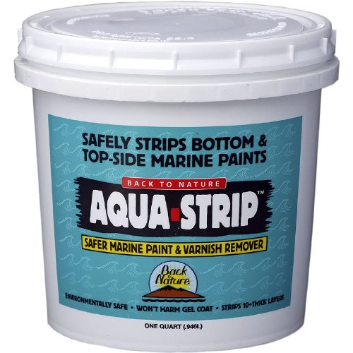 Back To Nature Quart Aqua Strip Safer Marine Paint Remover